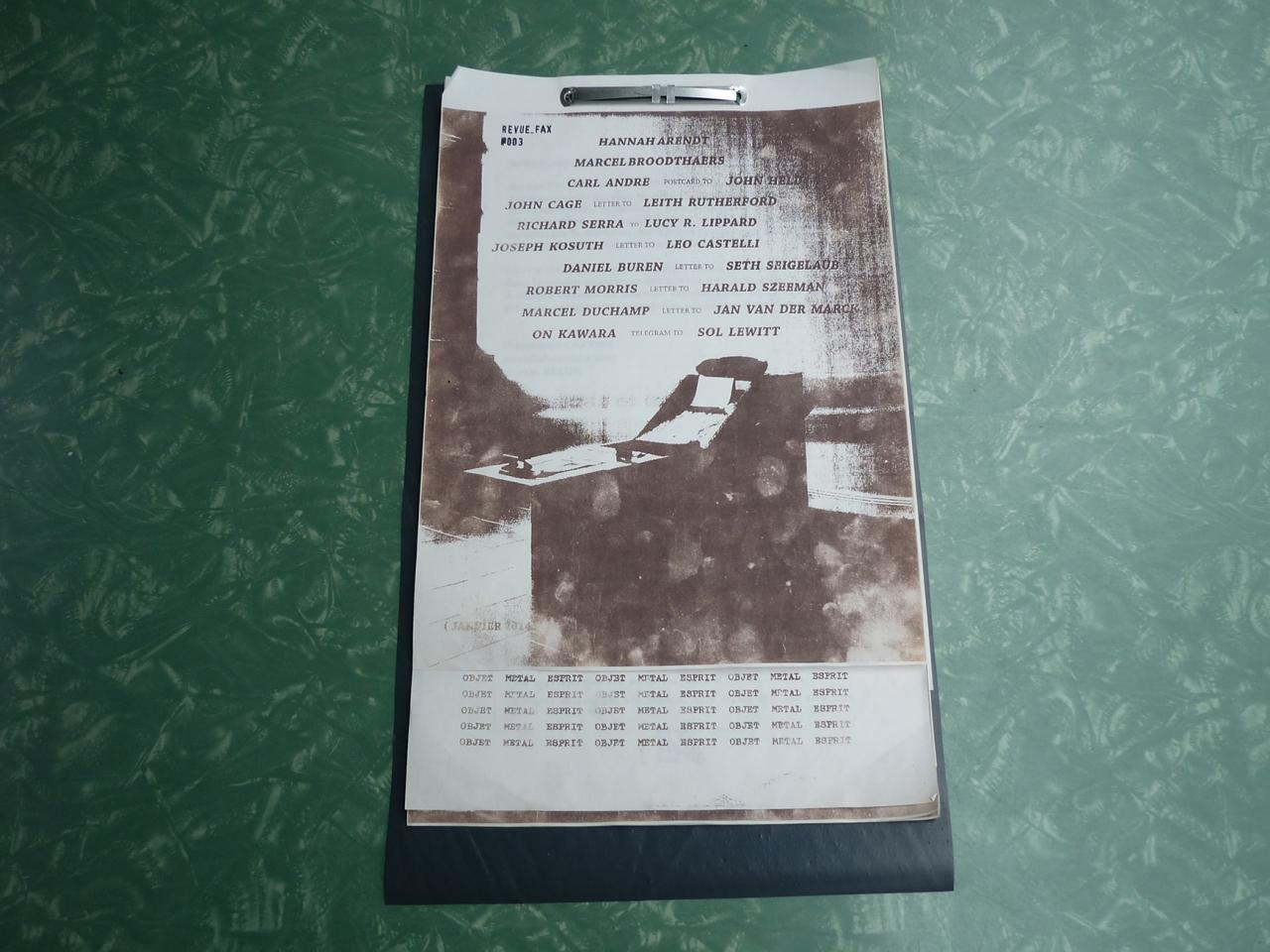 La Houle HRR-06 Revue_Fax