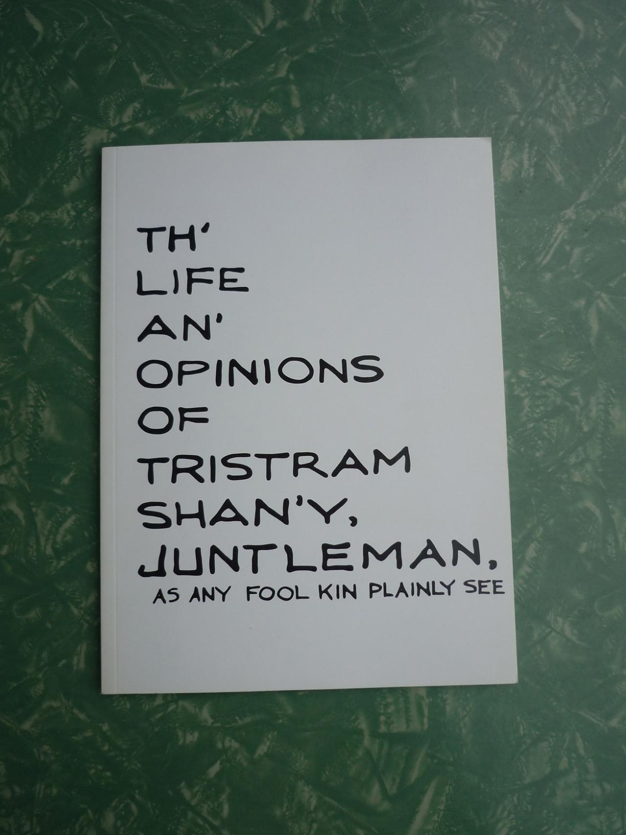 La Houle HRR-11 Th' Life an' Opinions of Tristram Shan'y, Juntleman